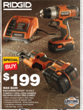 Home Depot sale flyer