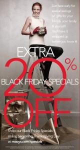 Macy's sale flyer