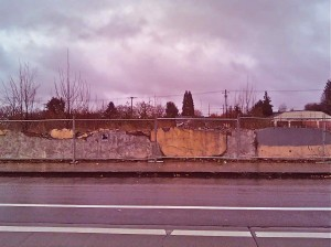 Vacant lot on North Vancouver St, Portland, Oregon