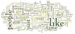 Branáin Word Cloud - January 1, 2011