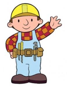 Bob the Builder waving