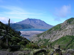 Into the wilderness with a friend | Mount Saint Helens and Spirit Lake (flickr - brewbooks)