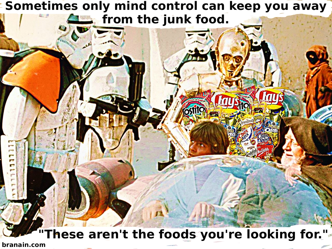 Star Wars diet - how to resist junk food