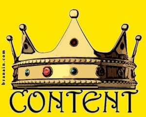 creating content is king once again - king's crown