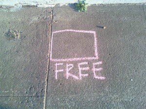 content marketing is much more than giving away free content | free chalk drawing