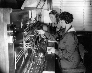 telephone switchboard (flickr by abc archives)
