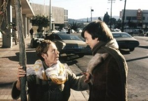 Harold and Maude movie | sidewalk scene