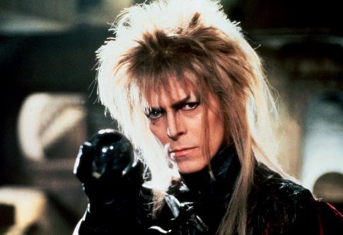 David bowie movie about magicians