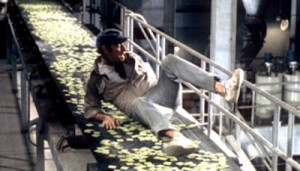 Soylent Green movie - conveyor belt