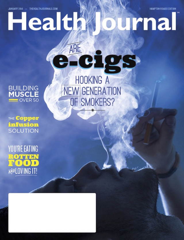 Electronic Cigarettes: Clouded in Controversy - Health Journal - January 1, 2014 - by Shawn Radcliffe