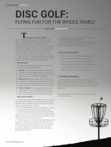 Disc Golf: Flying Fun for the Whole Family