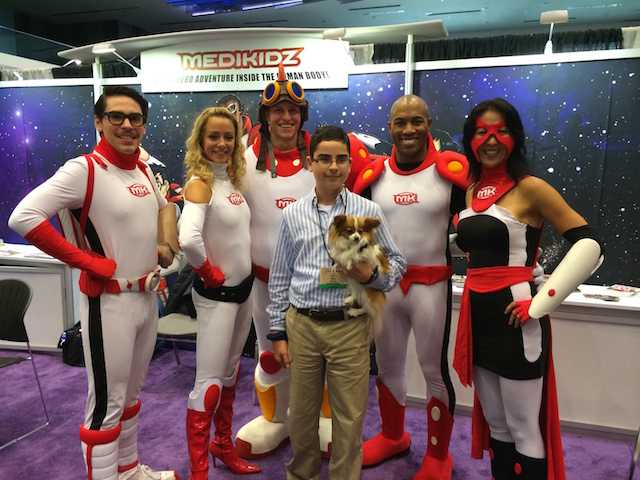 Medikidz and Joel and Flame