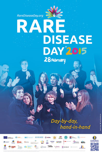 Rare Disease Day 2015 poster