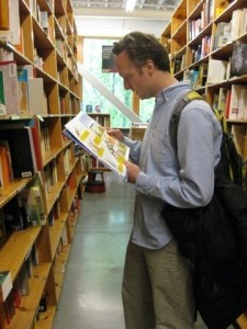 Shawn Radcliffe - Health and Science Writer - Powell's bookstore - Portland, Oregon