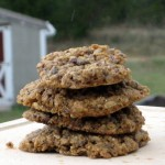 Triple Ginger Cookies With Oatmeal and Chocolate Chips