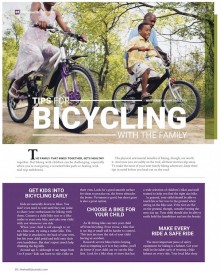 Tips for Bicycling With the Family
