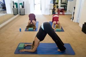 Yoga pose: forearm dolphin pose (Pixabay)