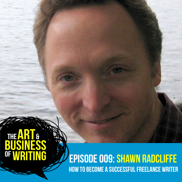 The Art & Buisness of Writing, podcast, interview, freelance writin
