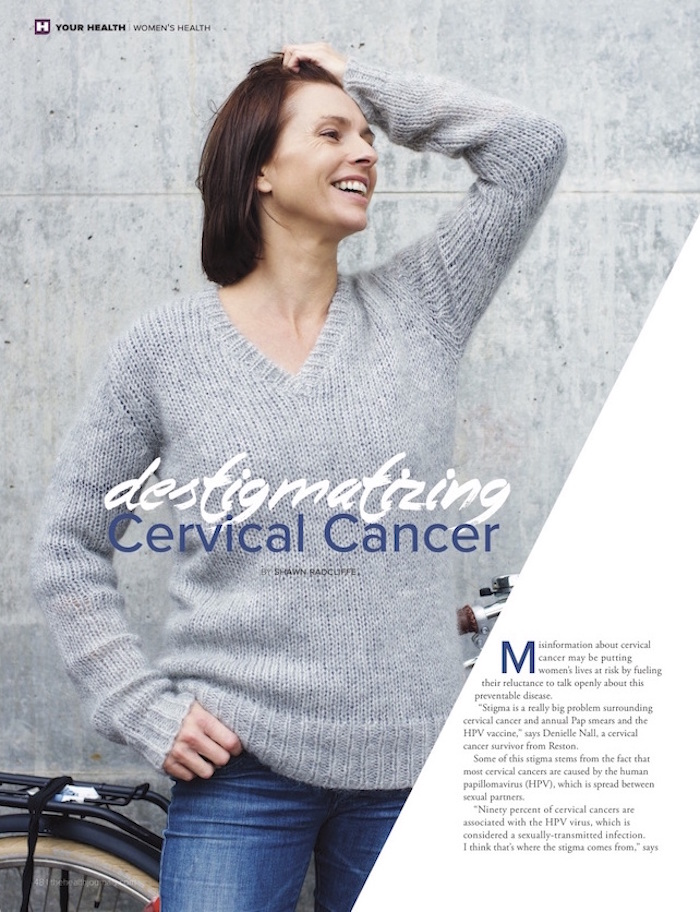 Destigmatizing Cervical Cancer - The Health Journal 01-01-16 (pdf p.1)