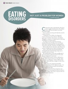 Eating Disorders: Not Just a Problem for Women