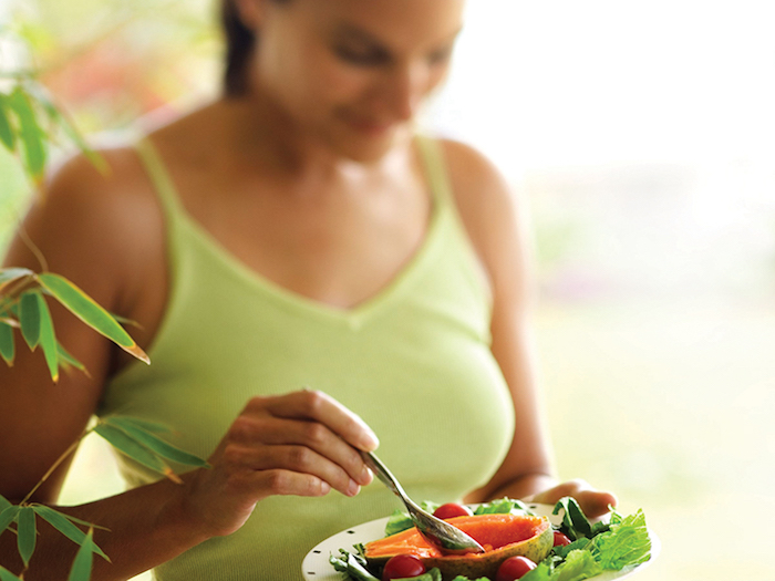 Woman Eating Healthy, orthorexia