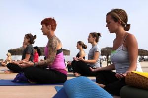 meditation practice, class, women
