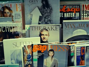magazines, rack, query research