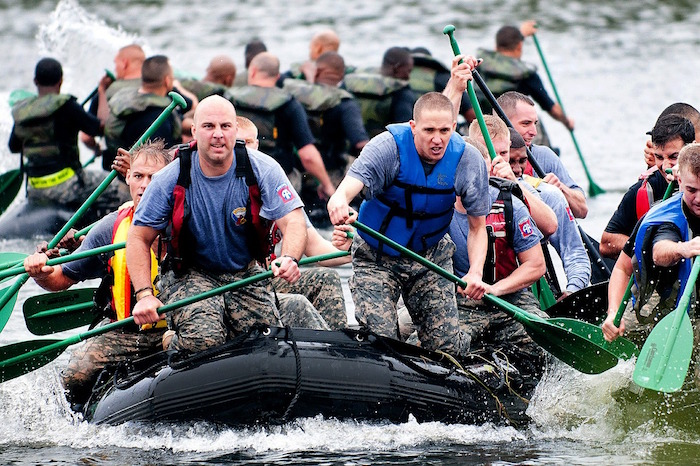 fitness, exercise, boat, men, race, training, teamwork