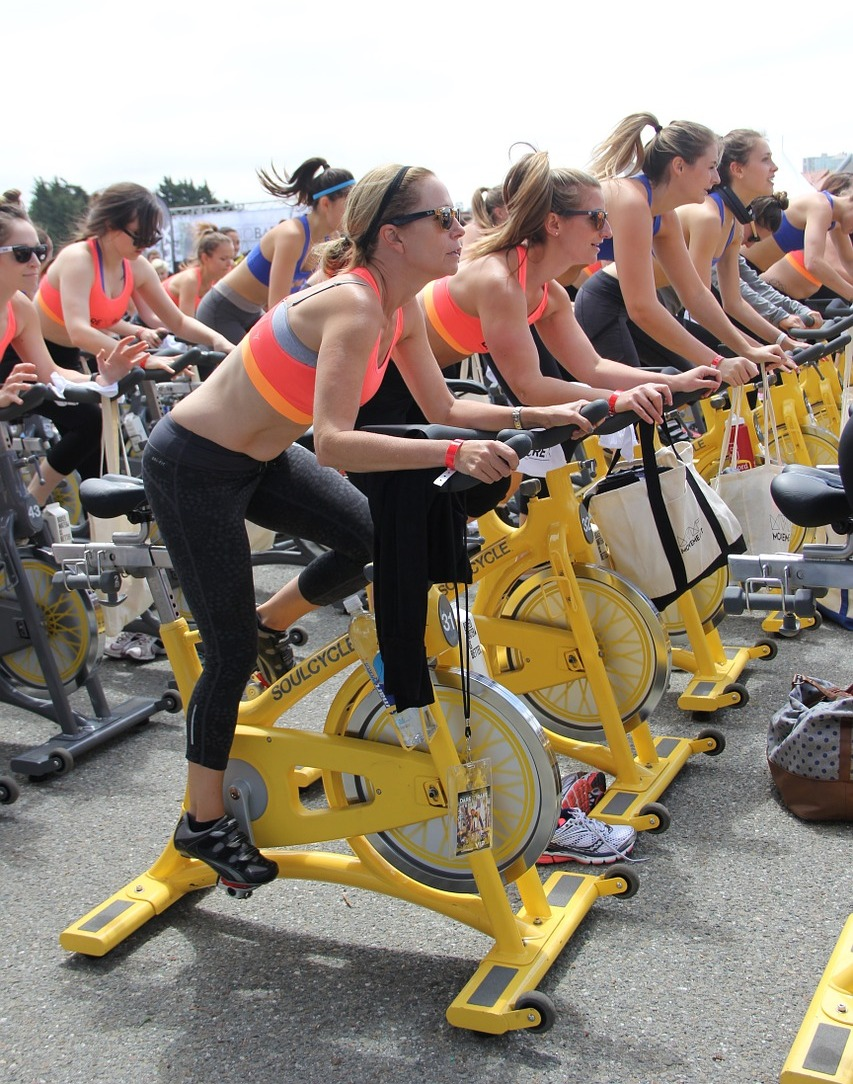 Outdoor Cycling Spin Class - Fitness Classes